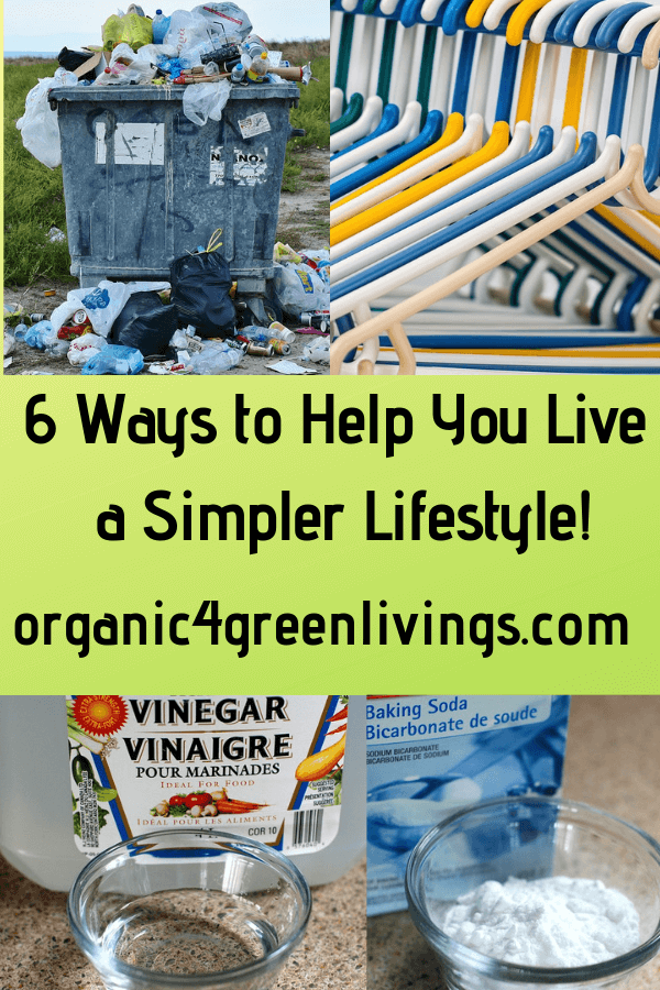 Ways to live a simpler lifestyle