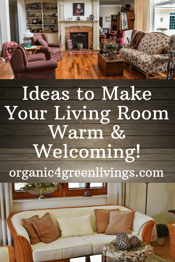 Ideas To Make Your Living Room Warm and Welcoming