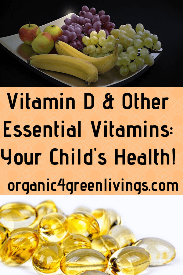 Vitamin D & Essential Vitamins for your child