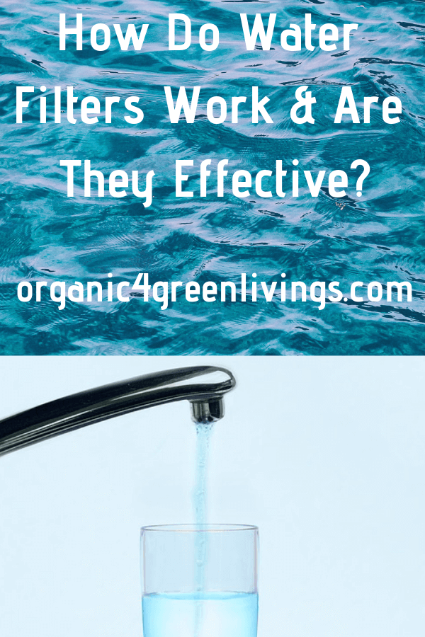 How Effective are water filters