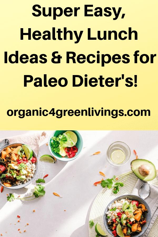 Paleo dieters recipes