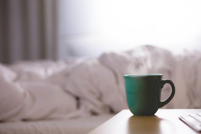 Avoid caffeine for a good night sleep