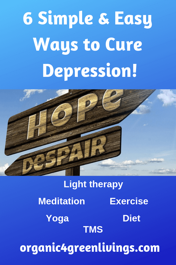 Ways to cure depression