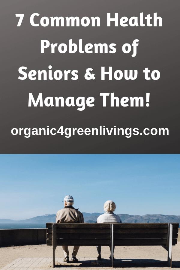 Senior health problems