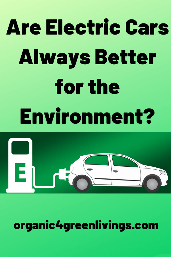 How electric affect the environment
