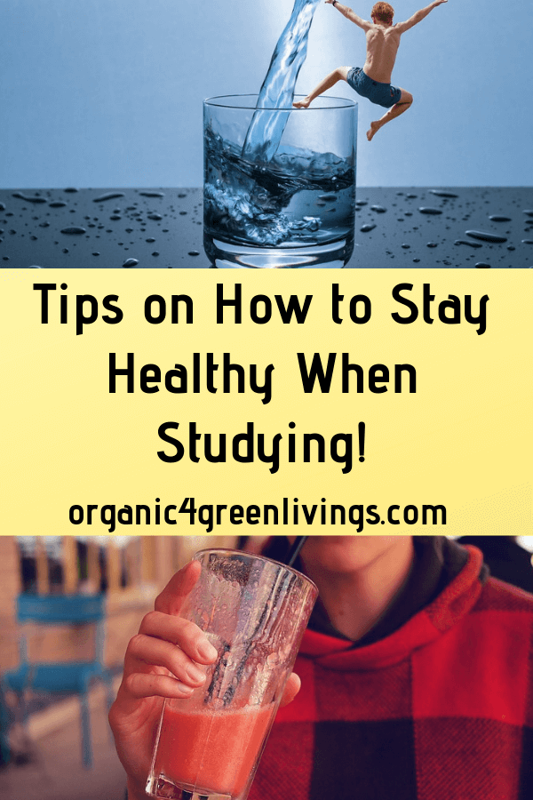 How to stay healthy when studying