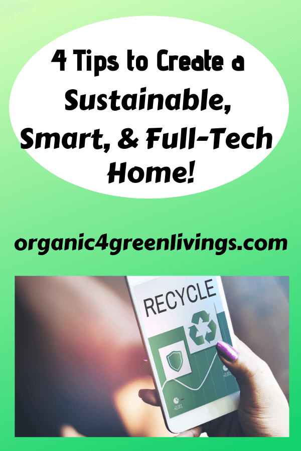 tips for a sustainable smart home