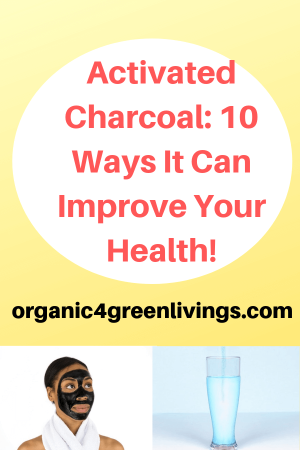 ways activated charcoal improves your health