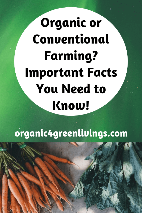 comparing organic and conventional farming methods