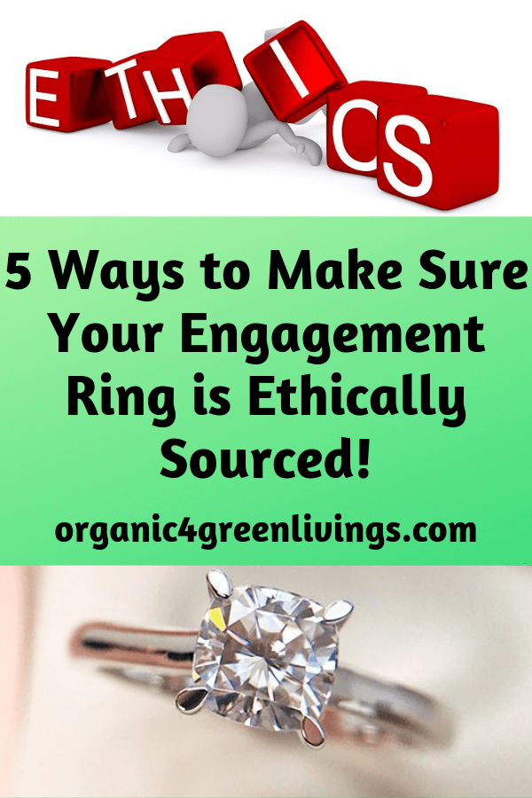 ways to have an ethically sourced diamond rings