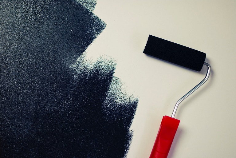 low VOC paint and wall finishes